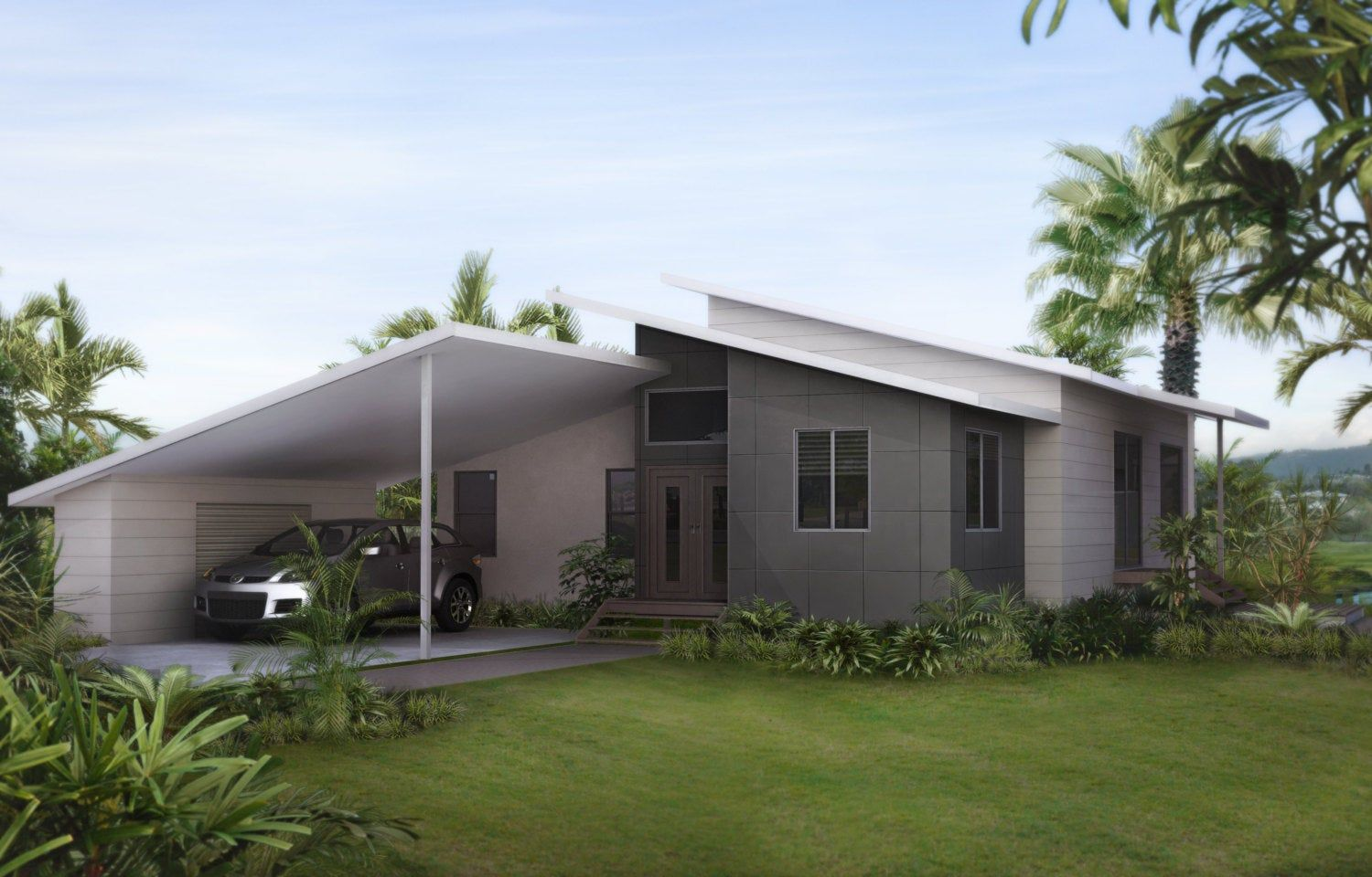 242m2 4 Bedrooms 3 Bedrooms Split Level Floor Plan