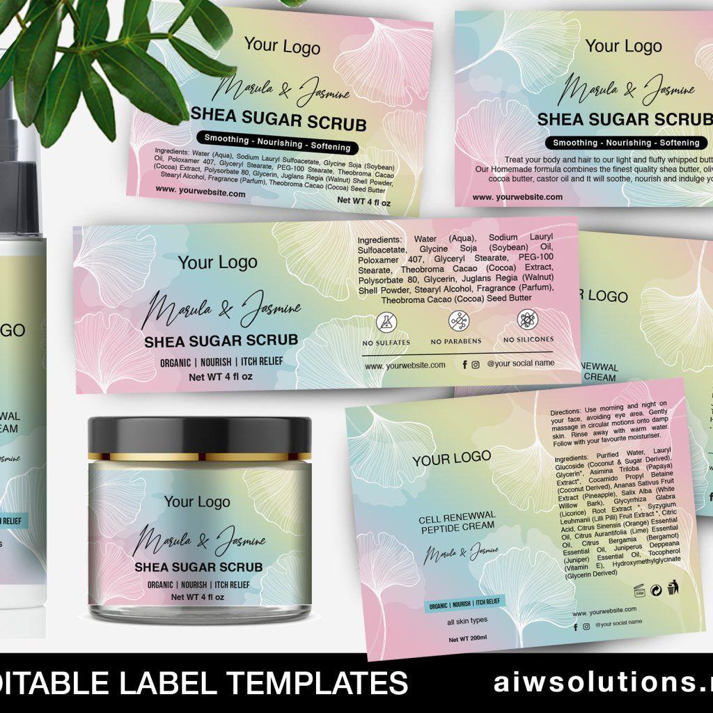 Label Template Id87 Label Templates Custom Label Design Inkjet Labels