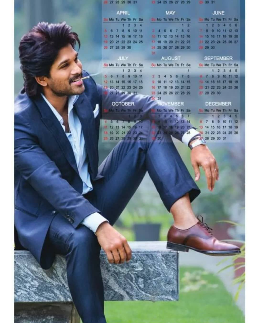 "New Hairstyle For Wedding Ceremony: ALLU ARJUN 💙 BUNNY ICONS 🎭 On Instagram: ""New Still"