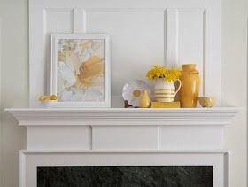 Karin Lidbeck: Decorating Your Mantel - Magazine Stylist Hints