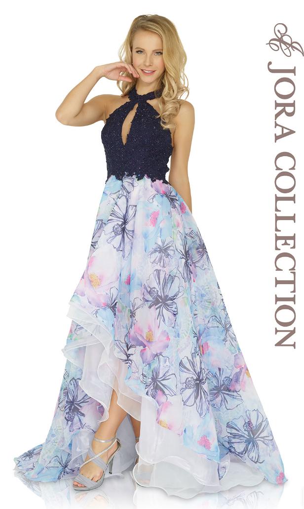 Auffallend Bedruckt Und Hinreissend Schon Langes Kleid Von Jora Collections Der Aktuellen Kollektion Joracollection Glamourose Abendkleider Kleider Kleidung