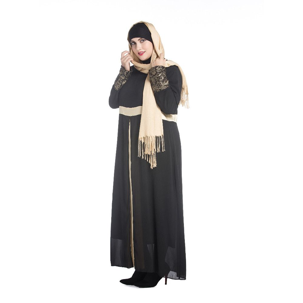 Middle east muslim womenus clothing plussize new spring fashion