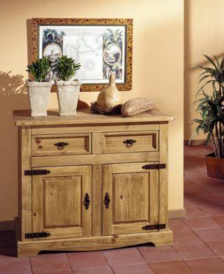Henke-Möbel Sideboard Mexican 1500, 2trg Jetzt bestellen unter - Wohnzimmer Grau Orange