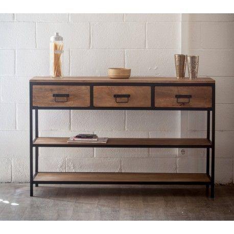 Résultats de recherche d\u0027images pour « meuble console avec tiroir