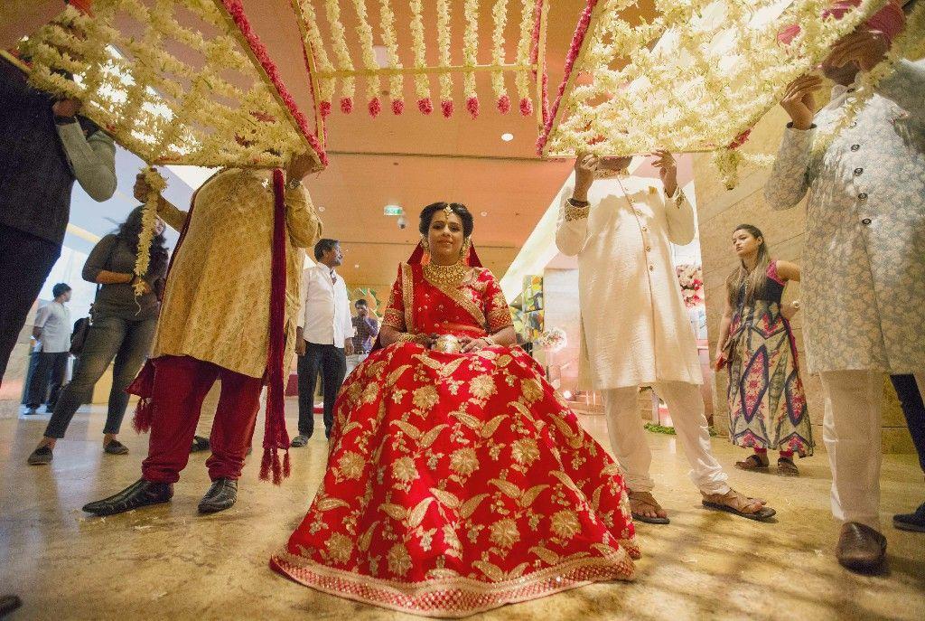 The Wedding On Wheels Beautiful indian brides, Wedding