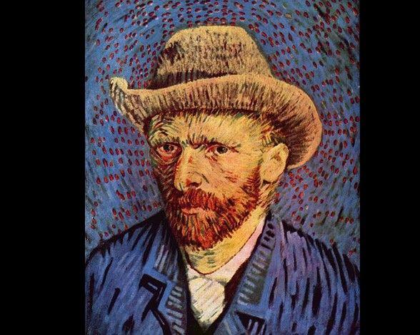 Los Cuadros Más Famosos De Vincent Van Gogh Autorretrato Van Gogh Van Gogh Museo Van Gogh