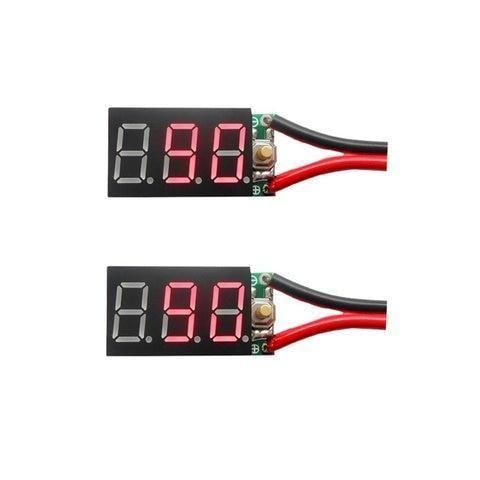 New 2pcs 2s 7 4v Pb Lipo Battery Tester Instruments And Ni Mh