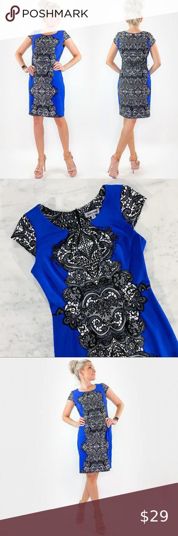 Blue Dress By Shelby And Palmer Dress Size Chart Women Shelby Palmer Blue Dresses