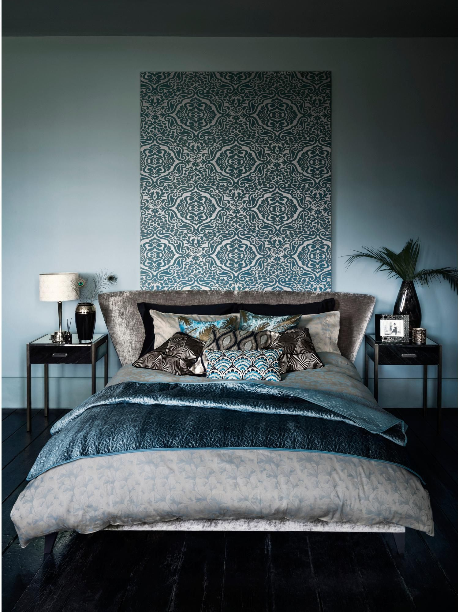 Meubles Fraser Furniture Biba Shell Bedspread Teal House Of Fraser Patz Plays House In