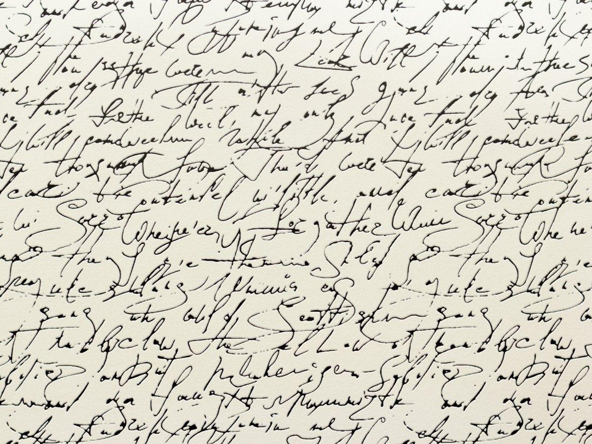 Tapete Schöner Wohnen 5 Schrift Schwarz Weiß 9448-25 In