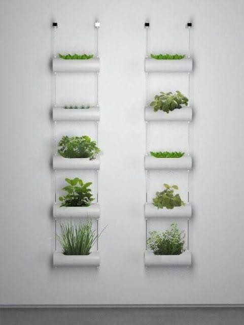 La buhardilla decoraci n dise o y muebles ideas para - Como hacer un jardin vertical de interior ...