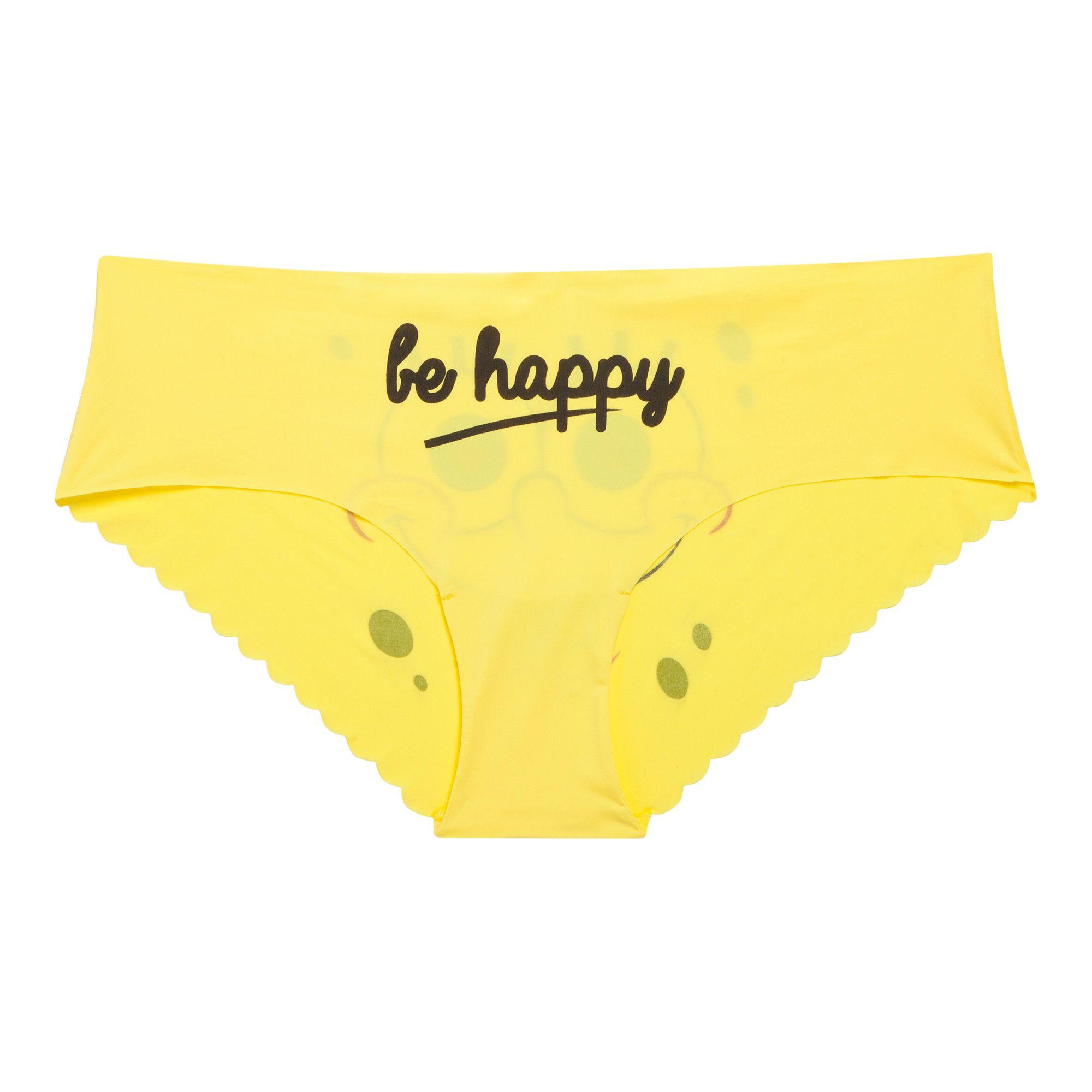 622628b2ce Undiz X SpongeBob: Culotte jaune tetedebobiz | SpongeBob Shopping ...