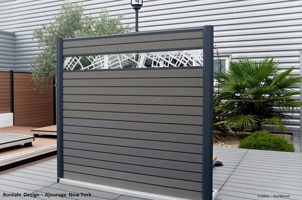 gamme clotures deco bor ale design paris oc wood. Black Bedroom Furniture Sets. Home Design Ideas