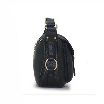 Women Elegant PU Leather Handbag Crossbody Bag Shoulder Bag - US$30.79