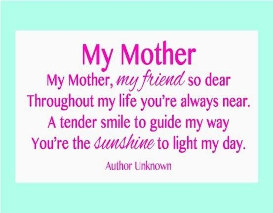 short mothers day quotes if you have your mom call her this day and tell her how much you love her