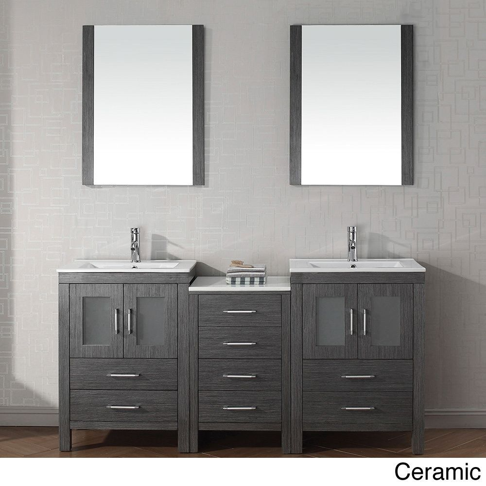 Virtu usa dior 66 inch double sink vanity set in zebra grey shopping great for 66 inch bathroom vanity cabinets