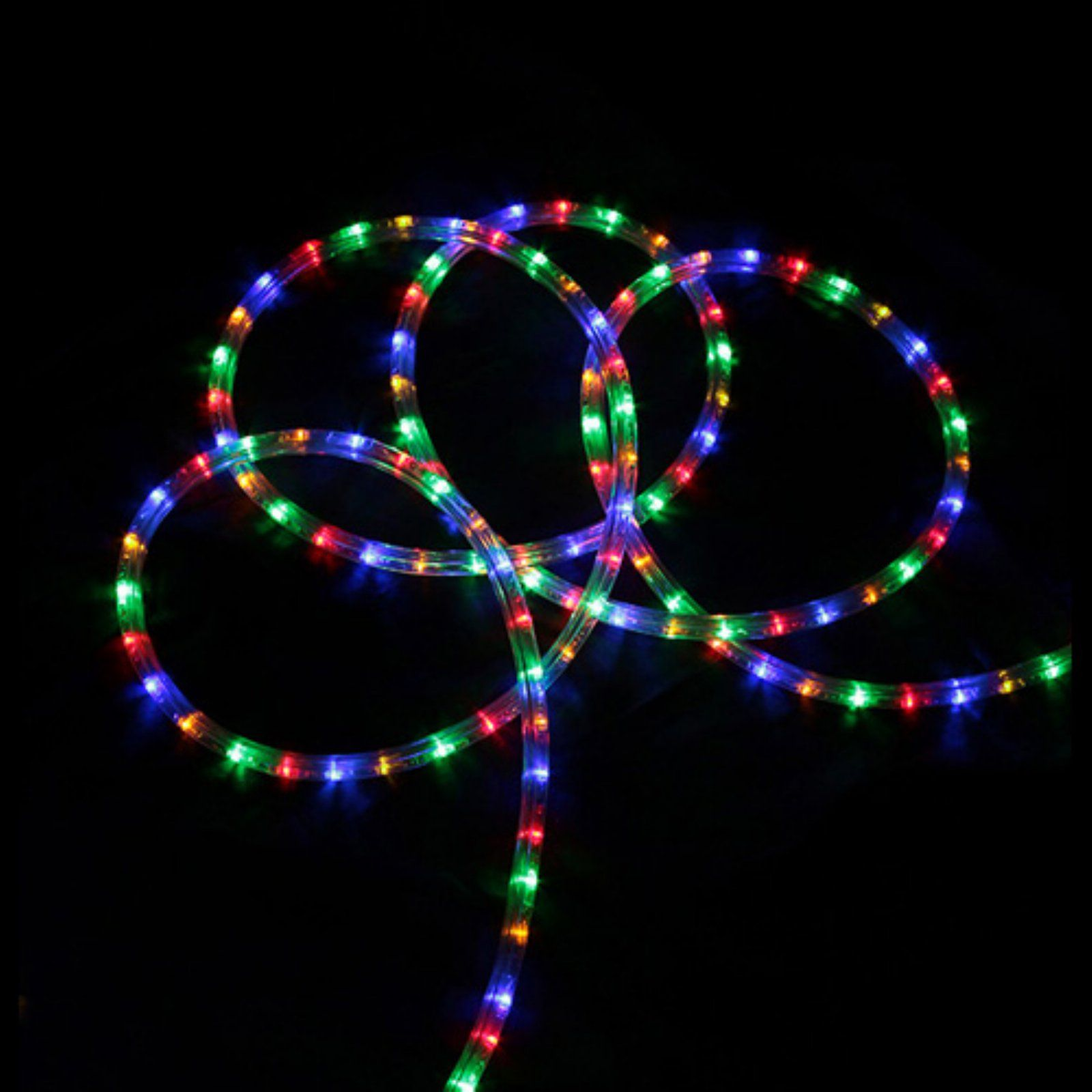 Northlight Commercial Grade Led Indoor Outdoor Rope Lights With A Spool Multi Color