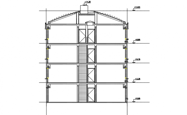 Lift elevation elevation detail dwg file (With images