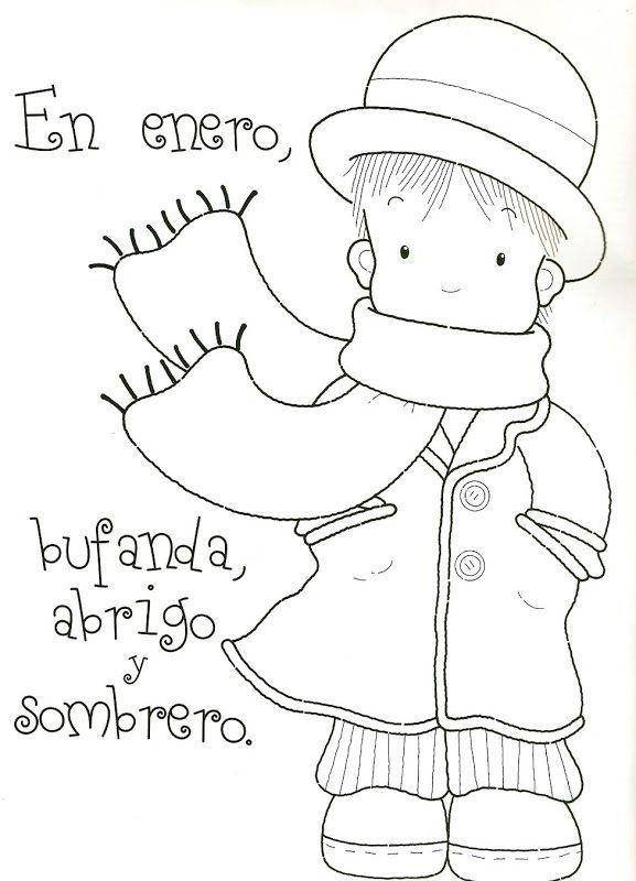 rimas del invierno para niños | Rimas | Pinterest | El invierno ...