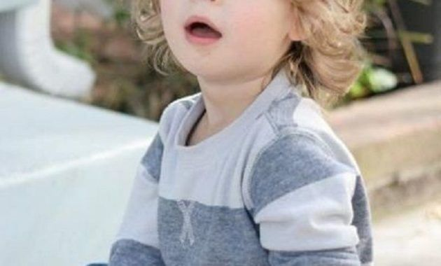 40 Stylish Baby Boys Hairstyle Ideas With Long Hair - MATCHEDZ | Baby boy hairstyles, Boy ...