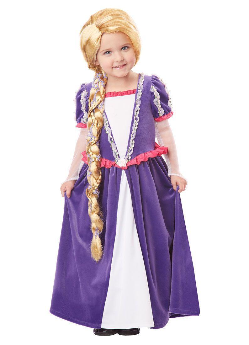 38dea8538534c1 Girls Tangled Rapunzel Blonde Wig for Kids Disney Costume | eBay ...