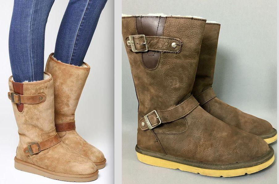 8e909030dc3 $240 UGG Australia Women's size 8 EU 39 Sutter Shearling Leather ...
