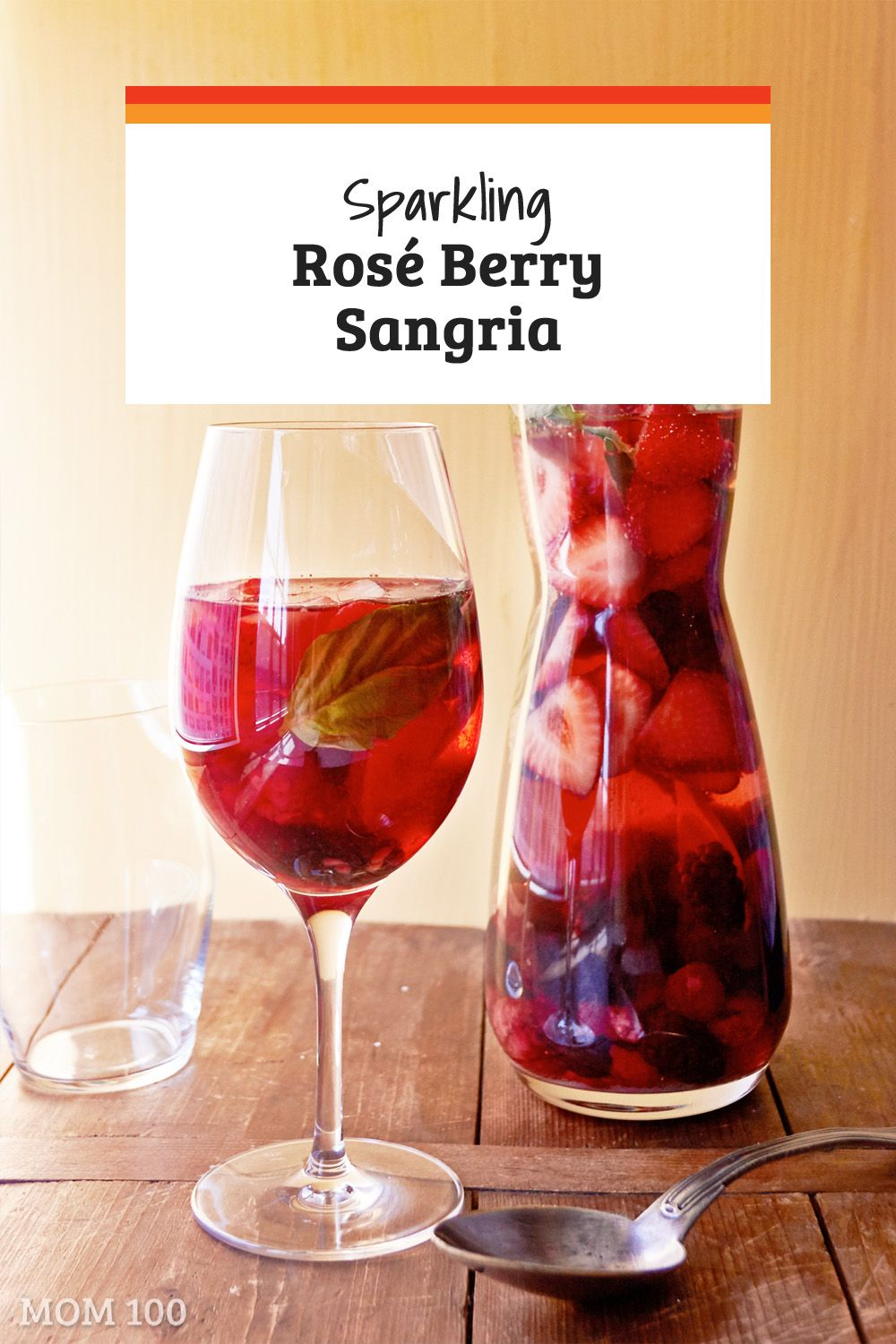Sparkling Rose Berry Sangria Stunningly Beautiful Fruity And A Delightful Pitcher Drink For Summer E Berry Sangria White Wine Sangria Recipe Fruit Cocktails