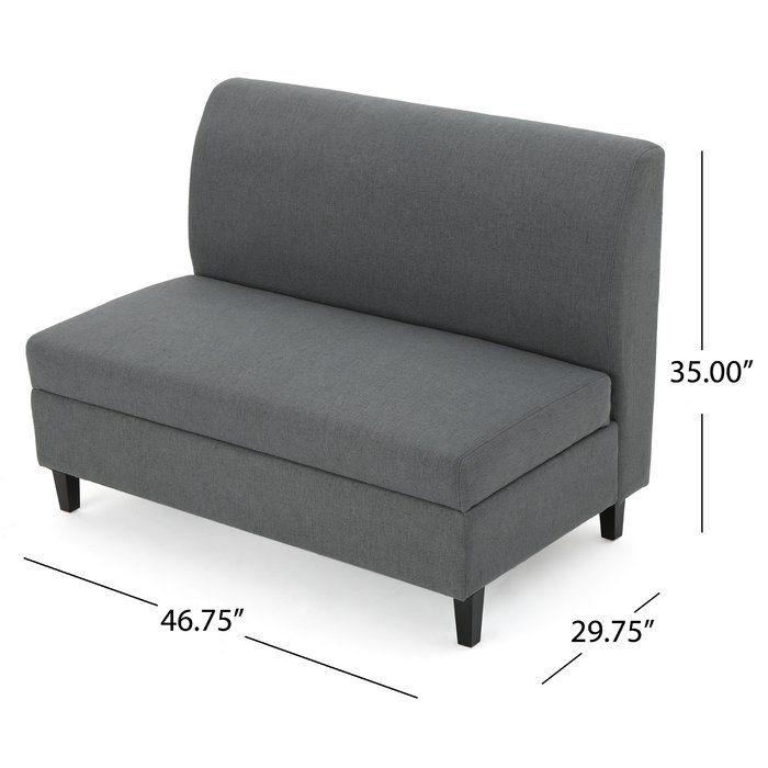 Excellent This Cleverly Designed Loveseat Opens Featuring Storage Beatyapartments Chair Design Images Beatyapartmentscom