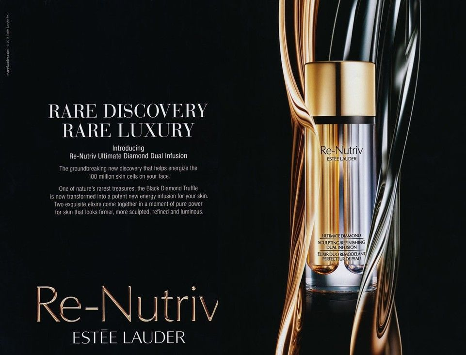 Pin By Chun Han On Cosmetic Graphic Cosmetics Advertising Estee Estee Lauder