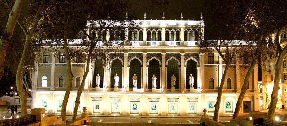 House Of Azerbaijani Culture Nizami Museum Of Azerbaijani Literature Architecture Azerbaijan Tourist Attraction