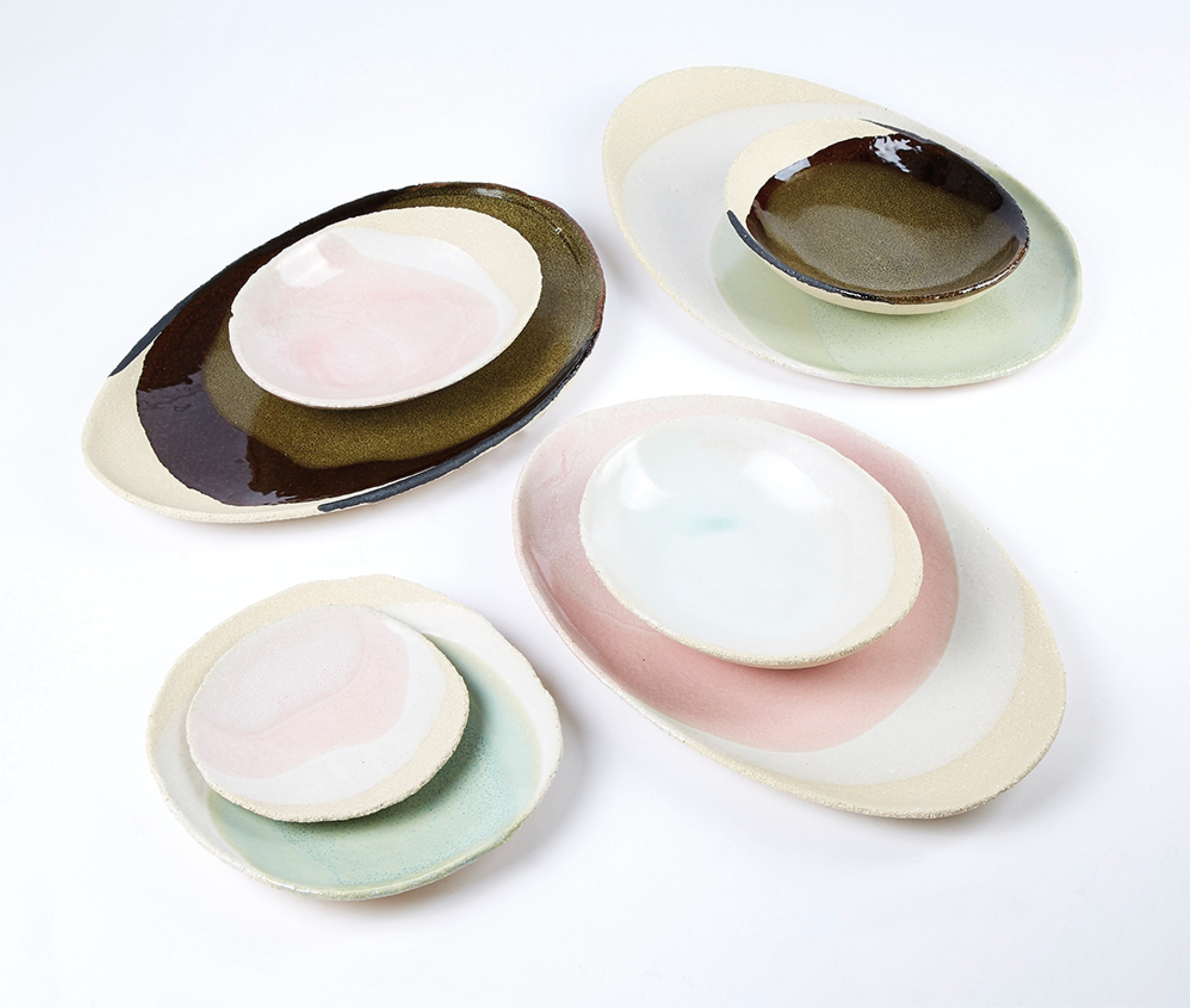 Assiette Ronde En Ceramique Wabi Ceramique Decoration Assiette Petites Assiettes