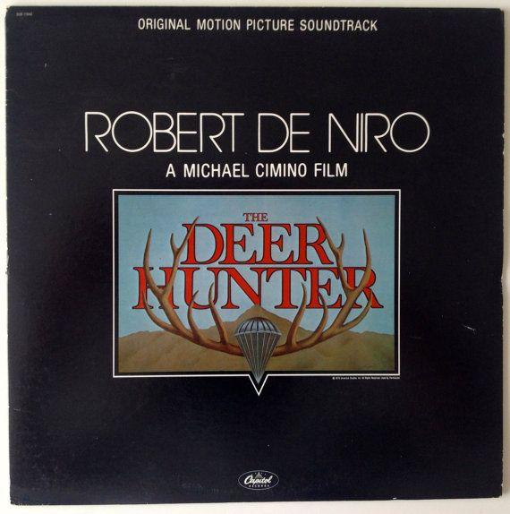 The Deer Hunter Original Motion Picture Soundtrack Lp Vinyl Record Album Capitol Records Soo 11940 1979 Original Pressing Deer Hunters Soundtrack Vinyl Record Album