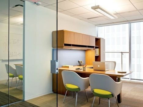 Simple but quite nice interior pinterest office for Small executive office design
