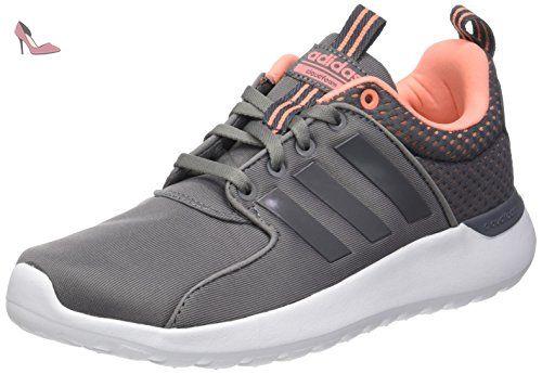 6258c25bc5 adidas Cloudfoam Lite Racer, Chaussures de Running Entrainement Femme, Gris  (Grey Three/