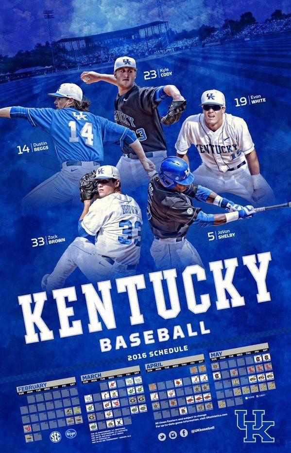Mobile Apps Fan On Kentucky Wildcats Baseball Posters