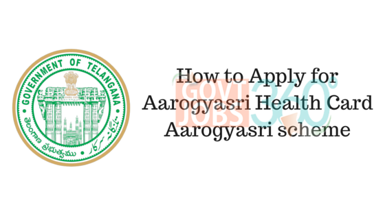 How to Apply for Aarogyasri Health Card in Telangana Aarogyasri scheme