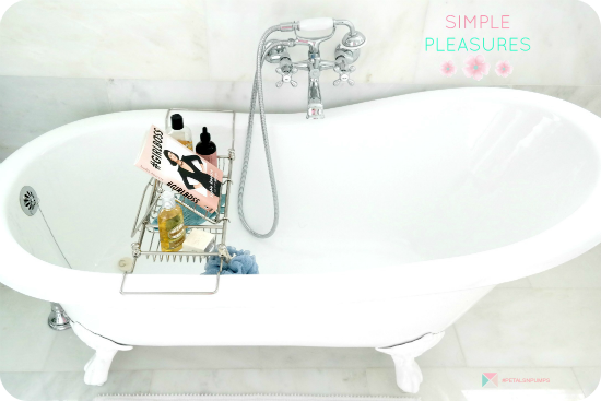 on P+P today, Simple Pleasures from last weekend | claw foot tub from Tubking.com