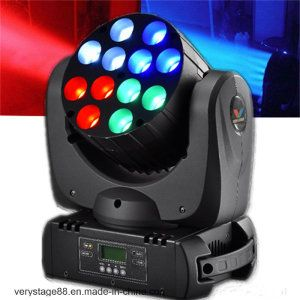 Stage Equipment 12x10w Cree Quad Led Beam Moving Head Light 2020