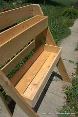 Large Wooden Stand Up Garden Bed