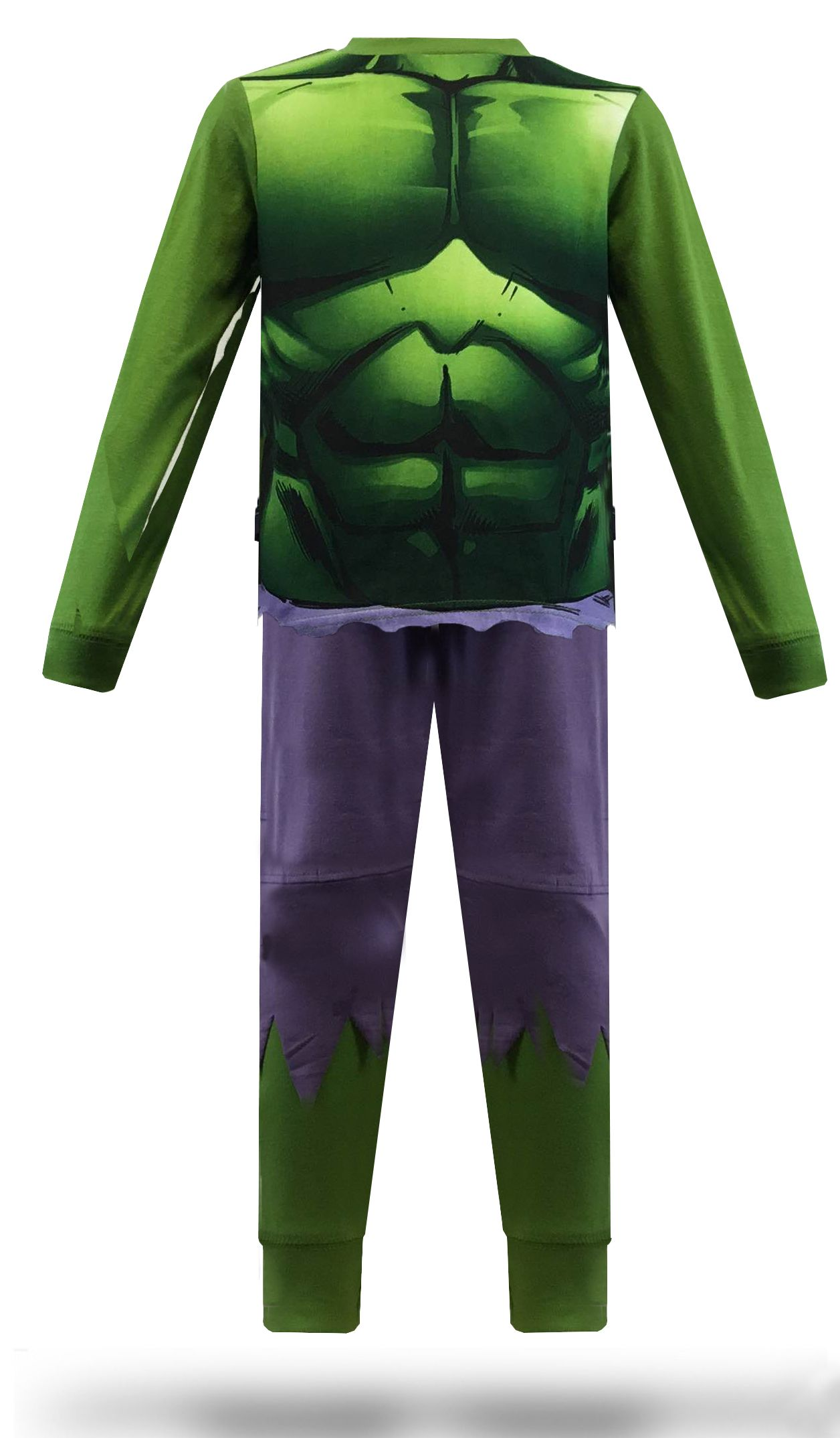 Marvel The Incredible Hulk Pyjamas Boys Long Pyjamas Pjs