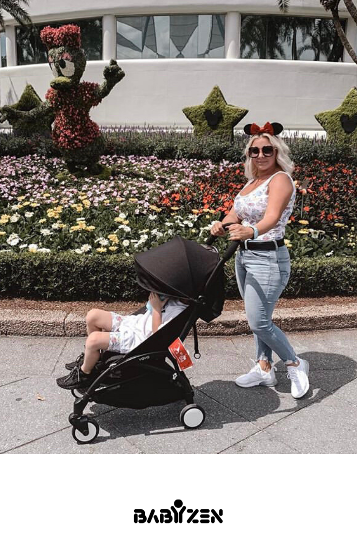 The BABYZEN YOYO+ is the best stroller for your Disney