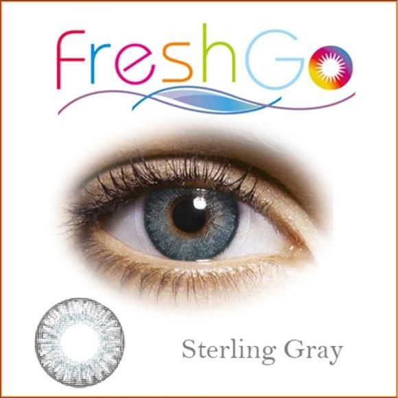 Sterling Gray Color Contacts By Freshgo Hair And Beauty Canada