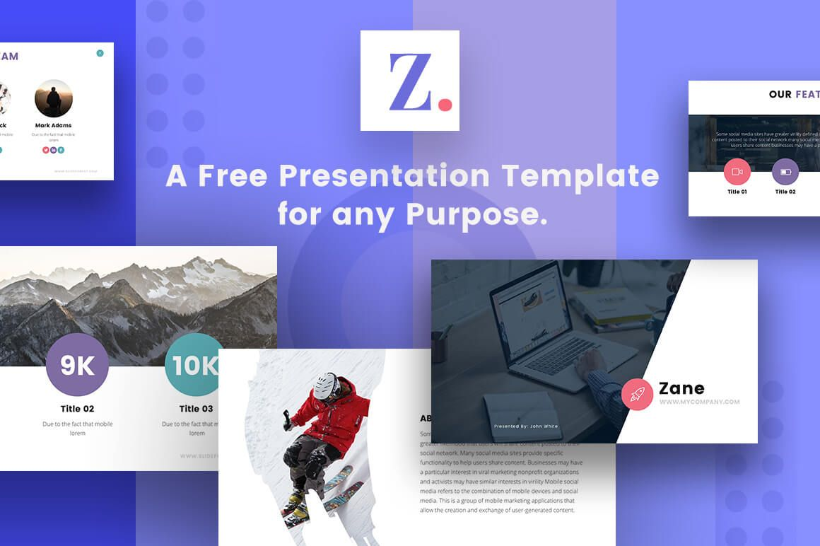27 Free Company Profile Powerpoint Templates Free Keynote Template Presentation Template Free Keynote Template