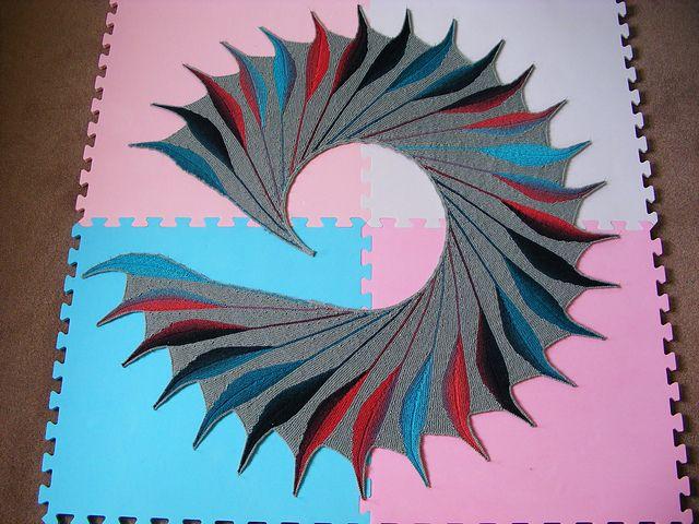 Dreambird KAL pattern by Nadita Swings | Pinterest | Tejido