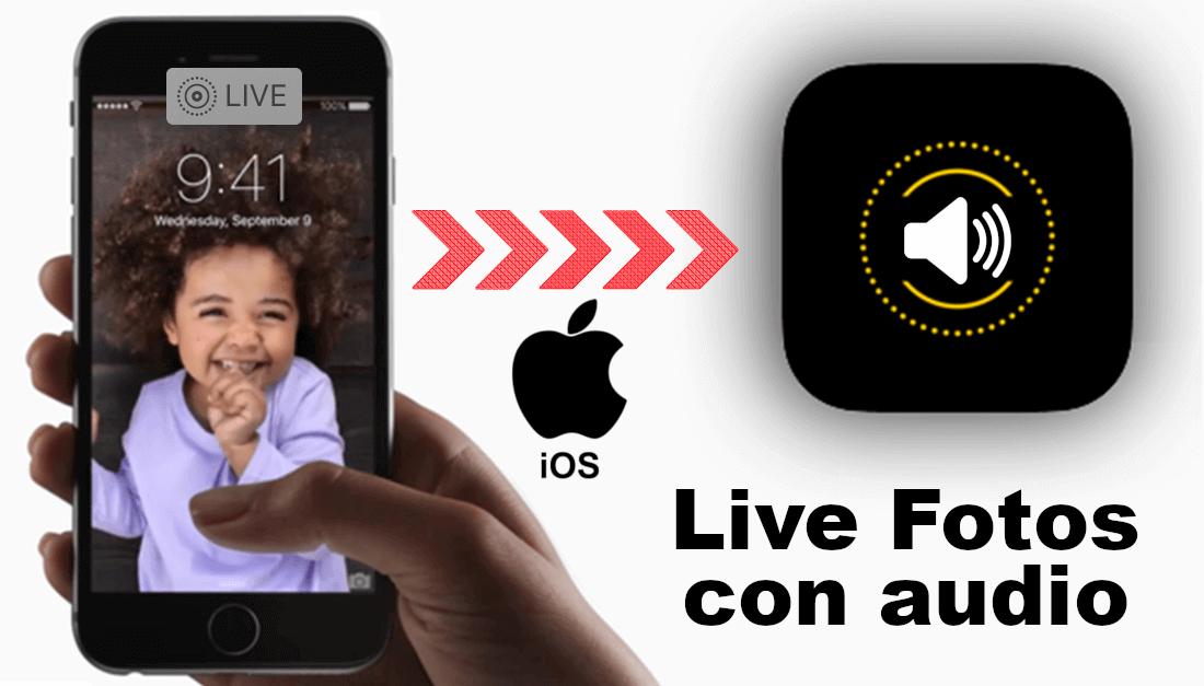 Conoce como reproducir el audio de las Live Fotos ✅ tomadas con iPhone o iPad con iOS. #LiveFotos #Audio #Apple #iPhone #iPad #iOS @downloadsource.es