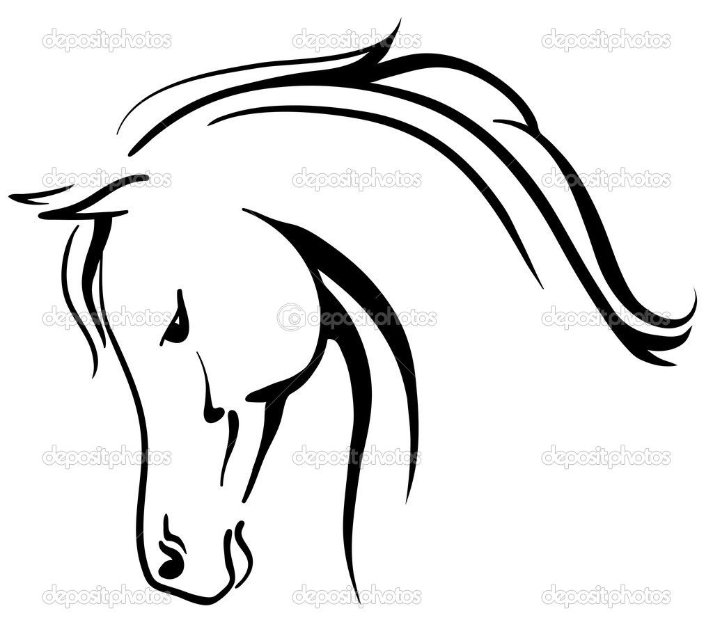 horse head clipart clipart panda free clipart images tattoo rh pinterest com horse head clip art images horse head clip art silhouette