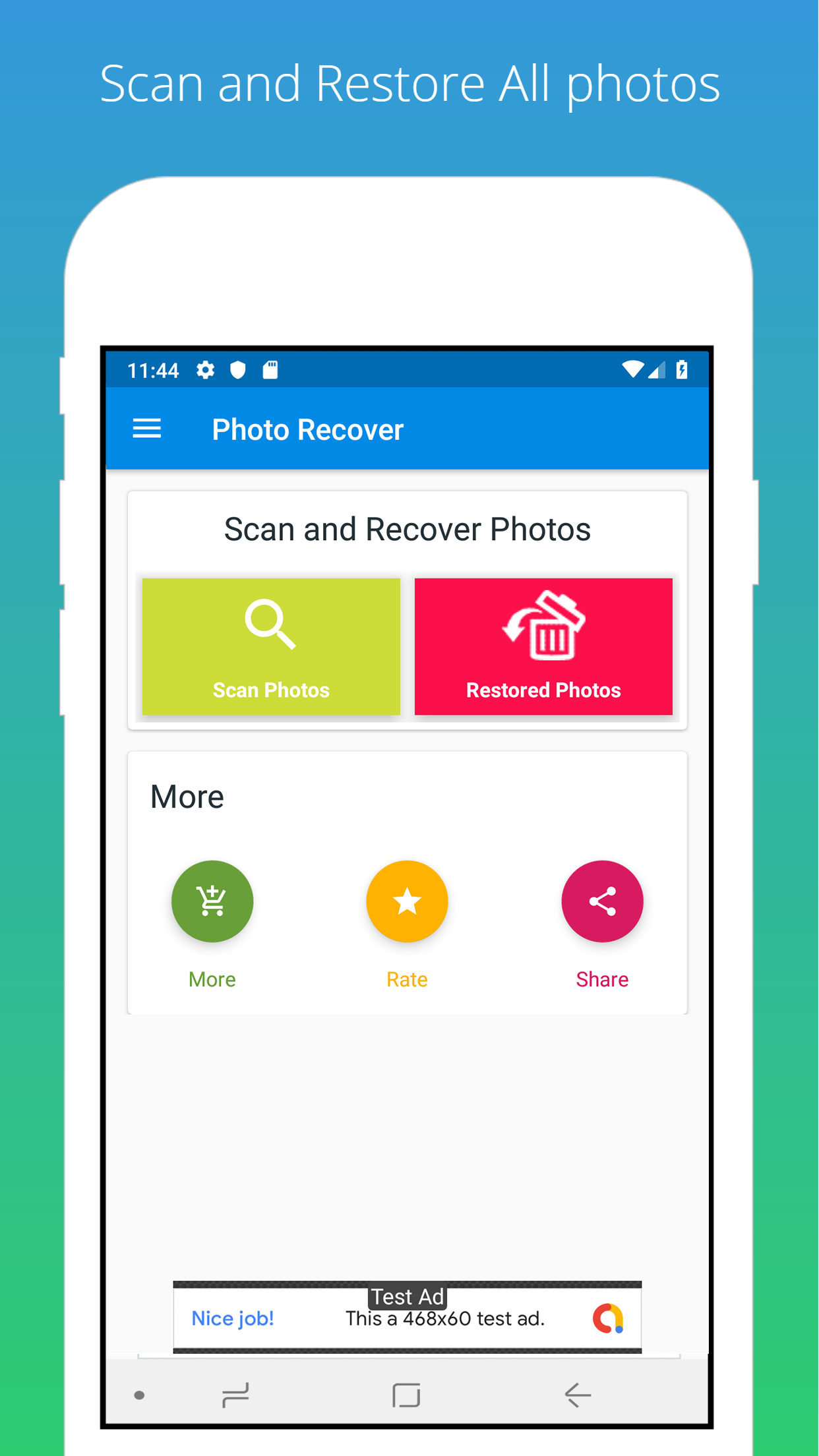 Recover Deleted Photo Android Source Code Android