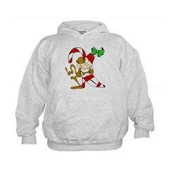 Christmas Monkey Hoodie