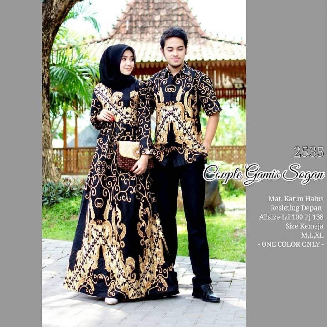 Baju Gamis Couple 8  Baju muslim, Pakaian wanita, Wanita