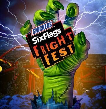 Fright Fest At Six Flags Thrills By Day Fright By Night Arlington Tx Kids Events Six Flags Arlington Halloween Haunt